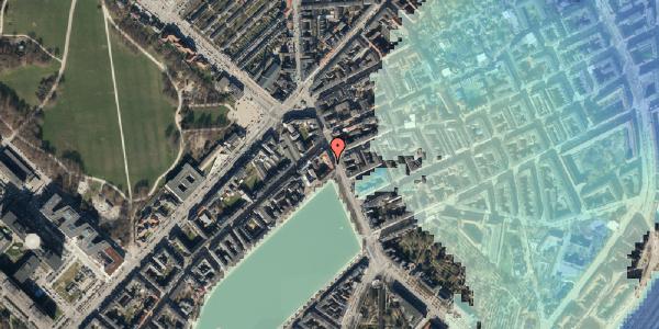 Stomflod og havvand på Østerbrogade 19, st. 1, 2100 København Ø