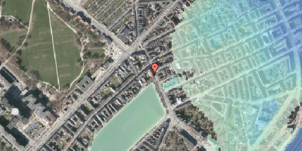 Stomflod og havvand på Østerbrogade 19, 1. 2, 2100 København Ø