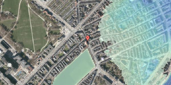 Stomflod og havvand på Østerbrogade 21, 1. tv, 2100 København Ø