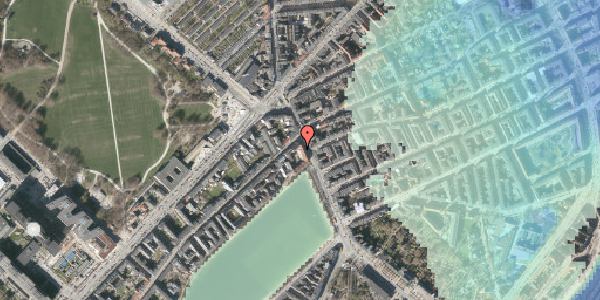 Stomflod og havvand på Østerbrogade 21, 2. tv, 2100 København Ø