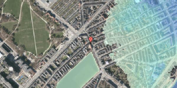 Stomflod og havvand på Østerbrogade 23, 3. , 2100 København Ø
