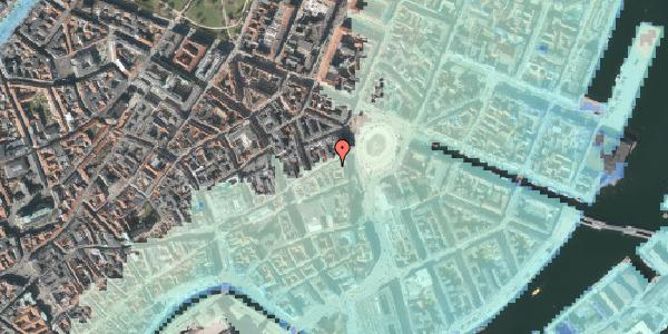 Stomflod og havvand på Østergade 3, st. , 1100 København K