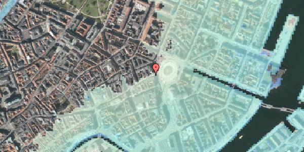 Stomflod og havvand på Østergade 4, 3. , 1100 København K