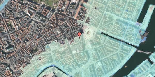 Stomflod og havvand på Østergade 7, kl. th, 1100 København K