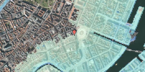 Stomflod og havvand på Østergade 8, 2. , 1100 København K