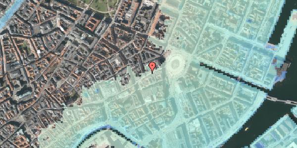 Stomflod og havvand på Østergade 18, 4. 2, 1100 København K