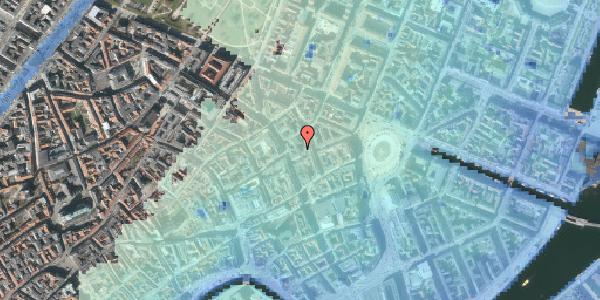 Stomflod og havvand på Østergade 24C, kl. , 1100 København K