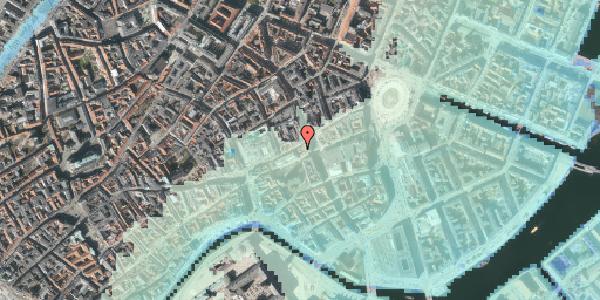 Stomflod og havvand på Østergade 35, 3. , 1100 København K