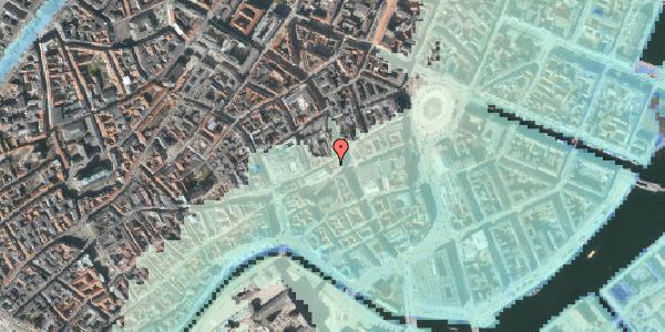 Stomflod og havvand på Østergade 35, 4. , 1100 København K