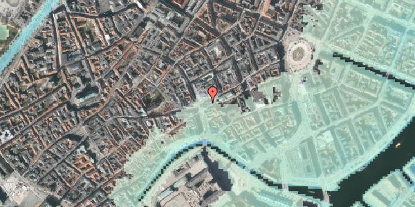Stomflod og havvand på Østergade 61, 4. , 1100 København K