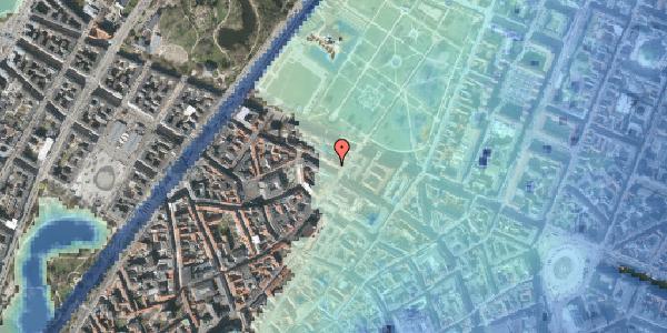 Stomflod og havvand på Åbenrå 8, st. , 1124 København K