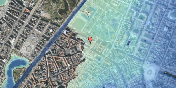 Stomflod og havvand på Åbenrå 10, 1. th, 1124 København K