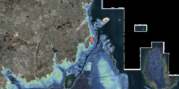Stomflod og havvand på Åbenrå 18, 4. , 1124 København K