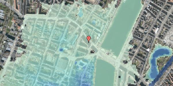 Stomflod og havvand på Åboulevard 9B, 1635 København V