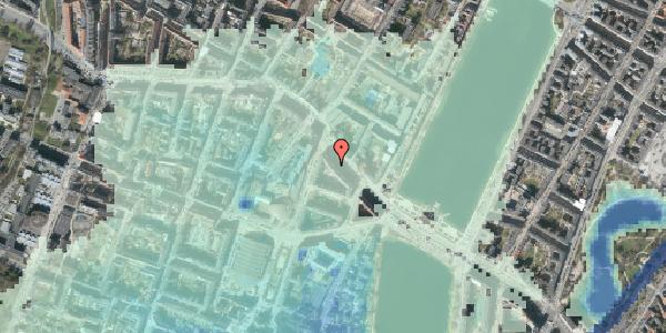 Stomflod og havvand på Åboulevard 13, 5. tv, 1635 København V