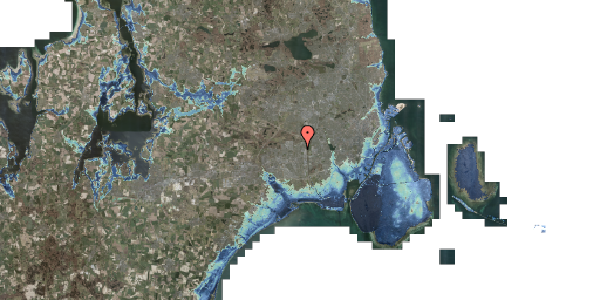 Stomflod og havvand på Byparkvej 103, 2600 Glostrup