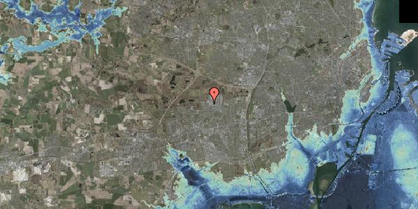 Stomflod og havvand på Naverland 22B, 2600 Glostrup