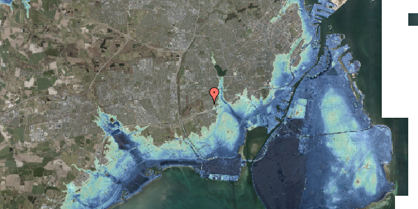 Stomflod og havvand på Agermosen 17, 2650 Hvidovre
