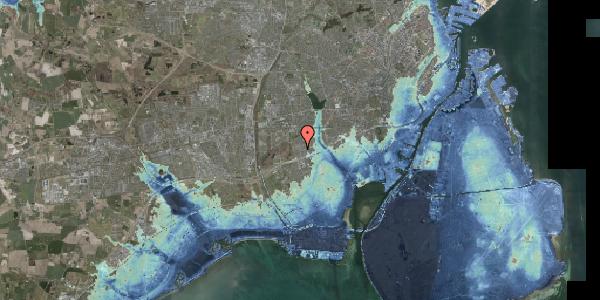 Stomflod og havvand på Agermosen 21, 2650 Hvidovre