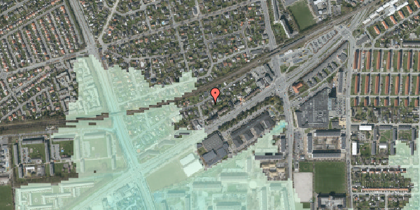 Stomflod og havvand på Ajax Alle 21, 2650 Hvidovre
