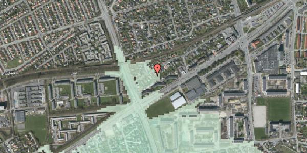 Stomflod og havvand på Ajax Alle 45A, 2650 Hvidovre