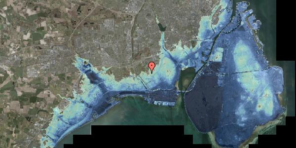 Stomflod og havvand på Alarmpladsen 2, 2650 Hvidovre