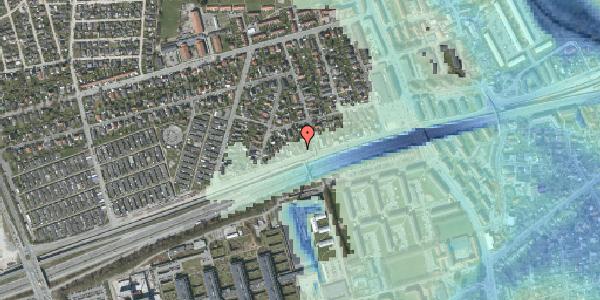 Stomflod og havvand på Allingvej 30, 2650 Hvidovre