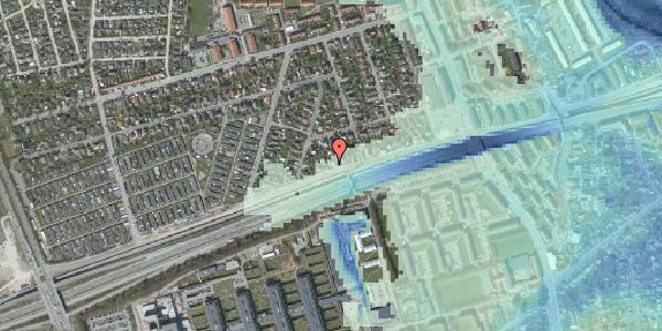 Stomflod og havvand på Allingvej 34, 2650 Hvidovre
