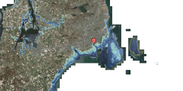 Stomflod og havvand på Allingvej 58, 2650 Hvidovre