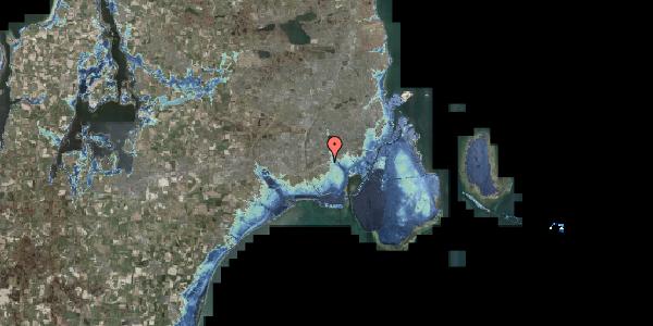 Stomflod og havvand på Allingvej 60, 2650 Hvidovre
