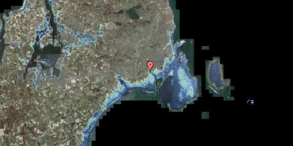 Stomflod og havvand på Allingvej 70, 2650 Hvidovre