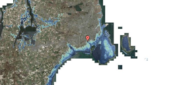 Stomflod og havvand på Allingvej 74, 2650 Hvidovre