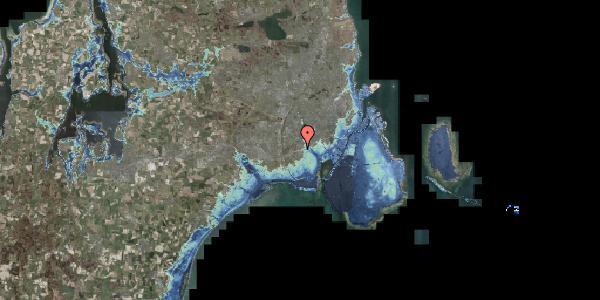 Stomflod og havvand på Allingvej 76, 2650 Hvidovre