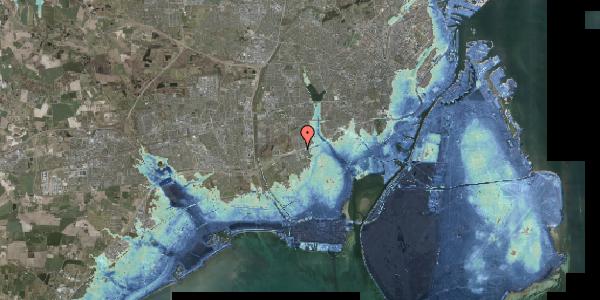 Stomflod og havvand på Allingvej 82, 2650 Hvidovre