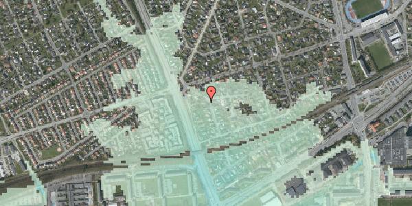 Stomflod og havvand på Argos Alle 2, 2650 Hvidovre