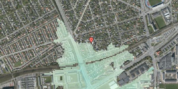 Stomflod og havvand på Argos Alle 3, 2650 Hvidovre