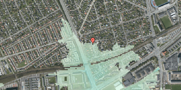 Stomflod og havvand på Argos Alle 4, 2650 Hvidovre