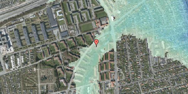 Stomflod og havvand på Arnold Nielsens Boulevard 1A, 2650 Hvidovre