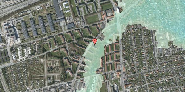 Stomflod og havvand på Arnold Nielsens Boulevard 1, 2. tv, 2650 Hvidovre