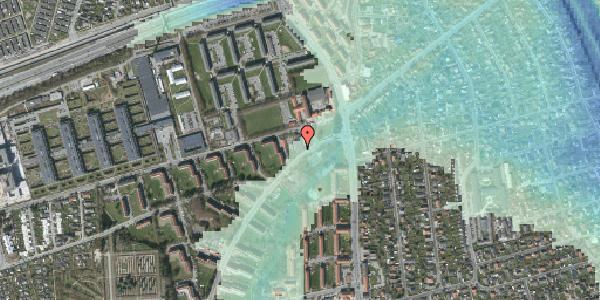 Stomflod og havvand på Arnold Nielsens Boulevard 2, st. 1, 2650 Hvidovre