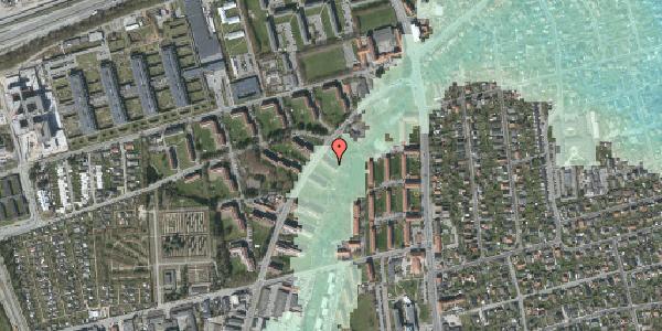 Stomflod og havvand på Arnold Nielsens Boulevard 3, st. th, 2650 Hvidovre
