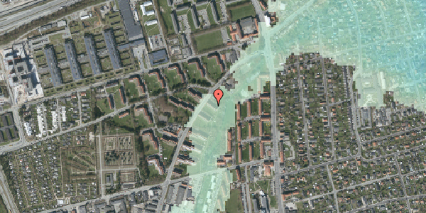 Stomflod og havvand på Arnold Nielsens Boulevard 3, st. tv, 2650 Hvidovre