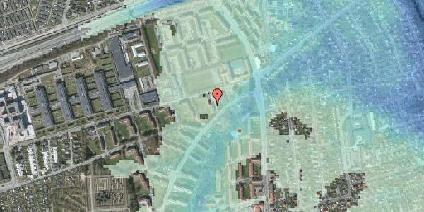 Stomflod og havvand på Arnold Nielsens Boulevard 6, 1. tv, 2650 Hvidovre