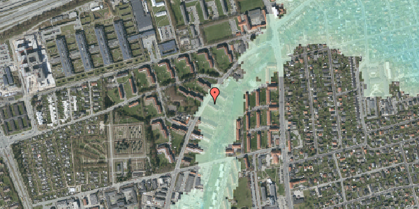 Stomflod og havvand på Arnold Nielsens Boulevard 7, st. tv, 2650 Hvidovre