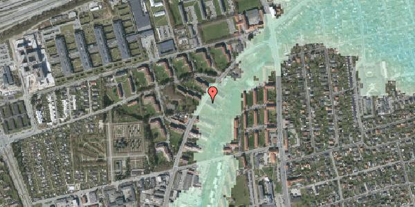 Stomflod og havvand på Arnold Nielsens Boulevard 7, 1. tv, 2650 Hvidovre
