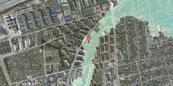 Stomflod og havvand på Arnold Nielsens Boulevard 9, 2. tv, 2650 Hvidovre