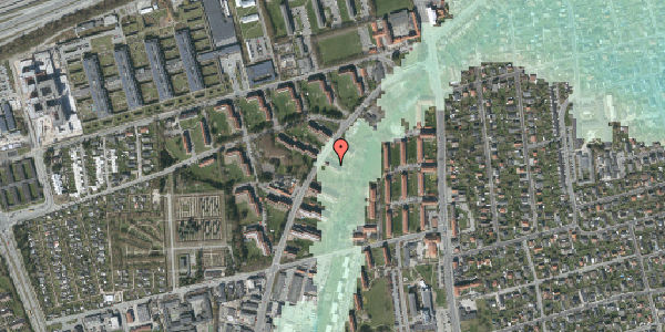 Stomflod og havvand på Arnold Nielsens Boulevard 9, 3. tv, 2650 Hvidovre