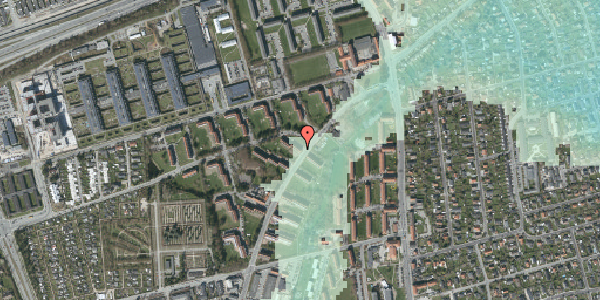 Stomflod og havvand på Arnold Nielsens Boulevard 12, st. th, 2650 Hvidovre