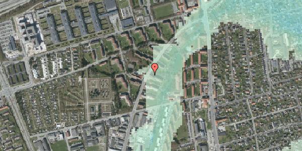 Stomflod og havvand på Arnold Nielsens Boulevard 13, st. th, 2650 Hvidovre
