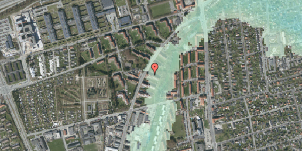 Stomflod og havvand på Arnold Nielsens Boulevard 15, 1. tv, 2650 Hvidovre